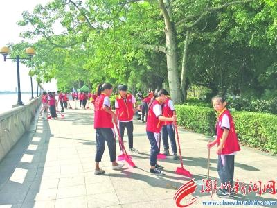 苏州200头条志愿者上街搞a头条-潮州v头条小学大儒中心中国多名排名图片