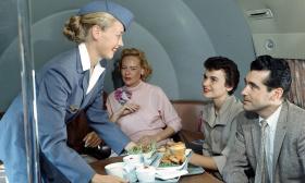 怀旧照片看当年飞行黄金时代空中航行景象