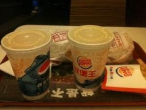 汉堡王饮品含糖超可乐1.5倍