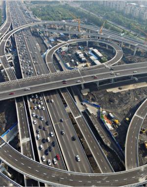中州大道农业路互通立交将通车 精致靓丽