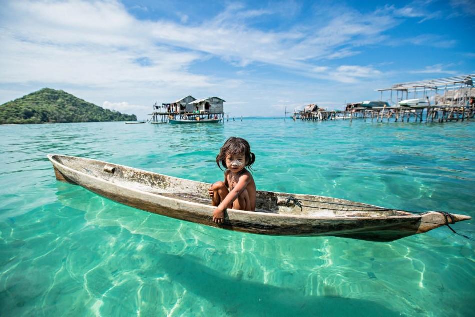 海上吉普赛人巴瑶族 活在自己的伊甸园