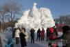 太阳岛雪博会春节黄金周接待近14万游客