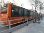 乘客出行时注意:青岛5条公交线路调整运行