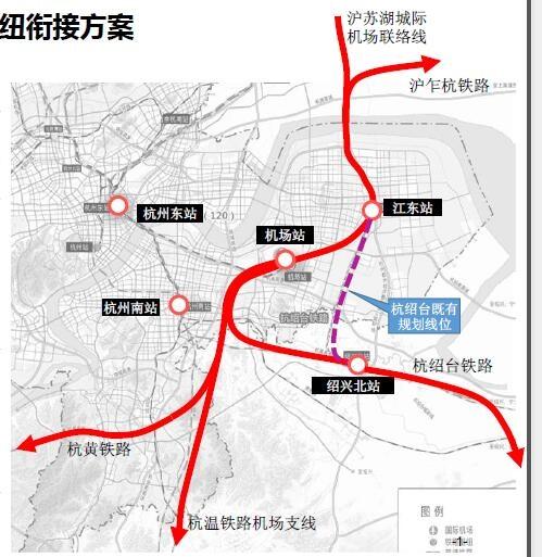 独占两条地铁,还要建一座火车站 杭州大江东最新规划出炉