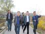 (图)湖南省吉首市政府考察团来我区参观考察