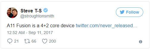 iPhoneX配置六核芯片 iPhone8或无缘