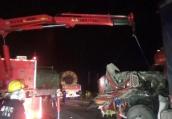 深夜233国道宝应段3车追尾 一位司机不幸身亡
