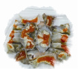 腌制红膏呛蟹成非物质文化遗产 宁波这家店腌制海鲜不一般