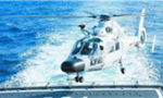 中国海军举行舰潜机对抗训练 检验联合打击能力