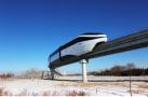中国人工智能云轨列车