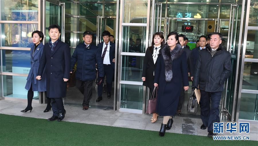 朝乐团女团长访韩考察