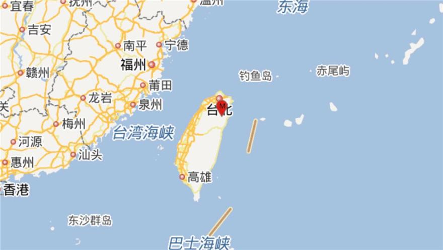 台湾宜兰县发生4.9级地震