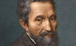 意大利雕塑家米开朗基罗出生