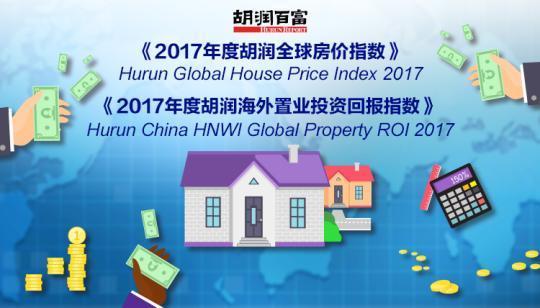 2017胡润全球房价指数:郑州位居全球前十