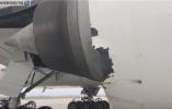 惊魂一刻!泰国航班降落南京禄口机场时被雷电击中