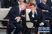"""美媒:欧洲领导人特朗普最""""爱""""马克龙"""