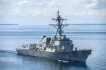 国防部新闻发言人任国强就美国军舰进入中国南海岛礁邻近海域发表谈话