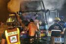 泰国巴士起火