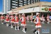 纳米比亚举行狂欢节花车游行