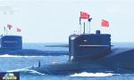 专家:094A核潜艇亮相阅兵 能携带巨浪2A导弹