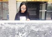 漯河15名大学生剪刻出《清明上河图》