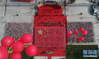 河南鲁山举行端午文化节 4000余名师生共诵《离骚》