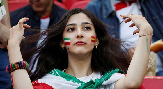 38年来 世界杯第一次看到她们的身影