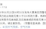 青岛市气象台发布大雾黄色预警信号 局部能见度小于100米