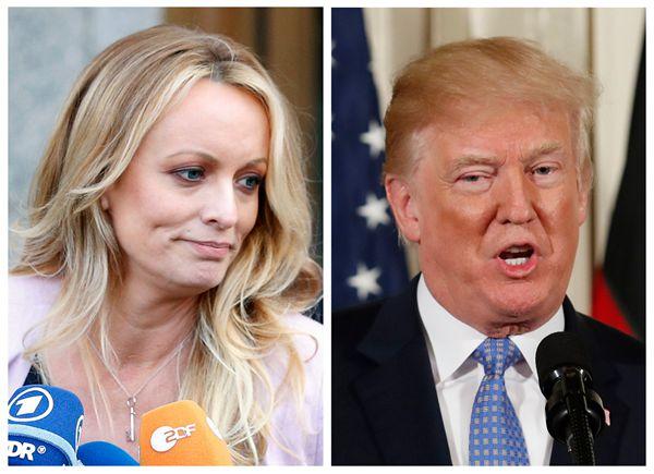 自曝与特朗普有情史艳星被捕 律师:这是圈套