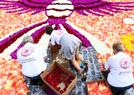 巨型花卉地毯