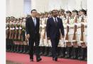 李克强同埃塞俄比亚总理阿比举行会谈
