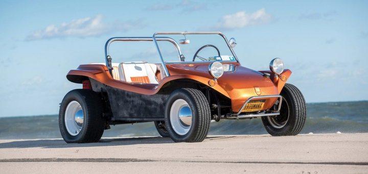 大众汽车推出纯电动沙滩车