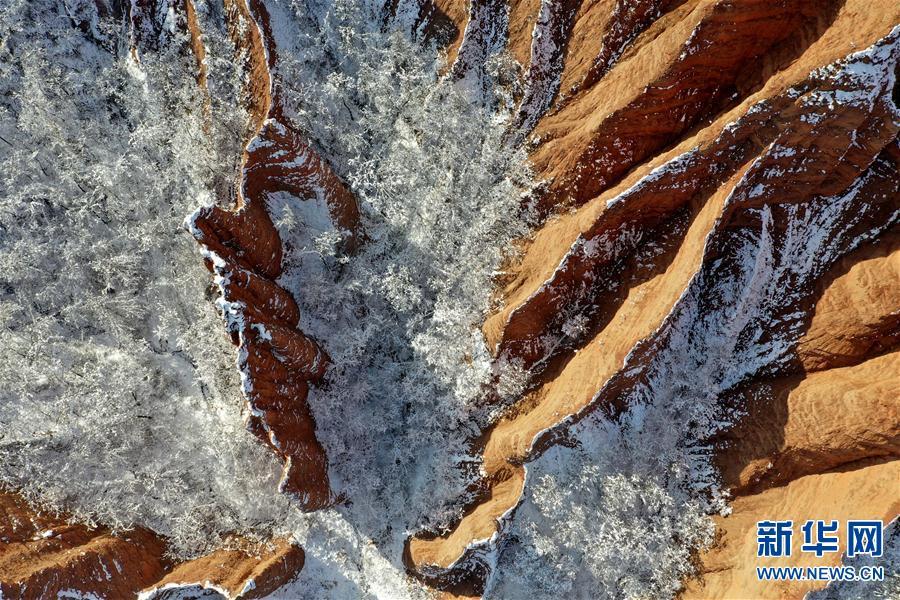 (环境)(6)雪后豫西 风景如画