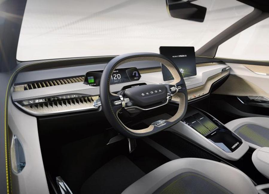 新能源概念车 斯柯达发布VISION iV官图