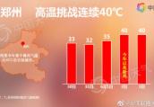 郑州或将现连续40℃高温天 52年来首次