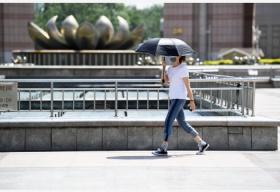 华北黄淮有持续性高温天气 局地最高气温可达40℃以上