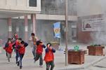 郸城县人民防空办 国家安全暨人防知识宣教活动进校园