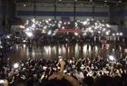 千人看球赛突然停电
