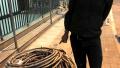 惯偷出狱后重操旧业盗窃电缆线 被龙文警方当场抓获
