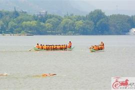 徐州國際龍舟邀請賽臨近 參賽隊雲龍湖加緊訓練積極備戰