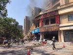突发-跟踪  开化火锅店爆燃系煤气泄漏引发,事故导致12人受伤