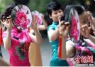 40位女老师穿旗袍为东南大学庆生 画面美哭了!