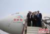 卢森堡首相参观郑州新郑国际机场 不吝赞扬称
