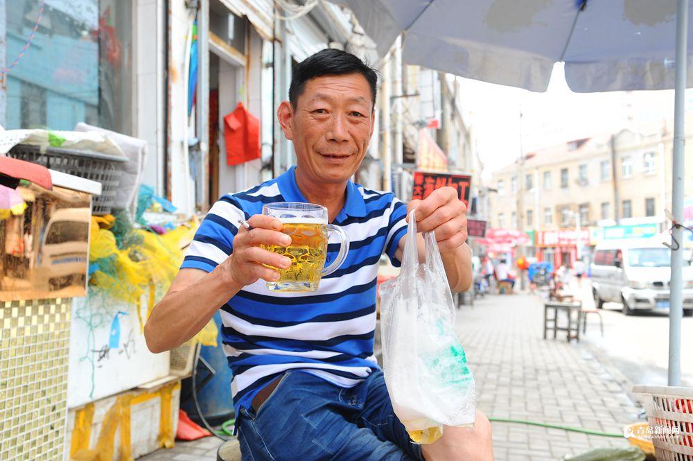 夏天青岛的味道 黄岛路喊你来喝散啤喽