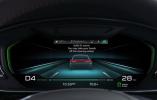 全新奥迪A8内饰预告图 7月11日首发亮相