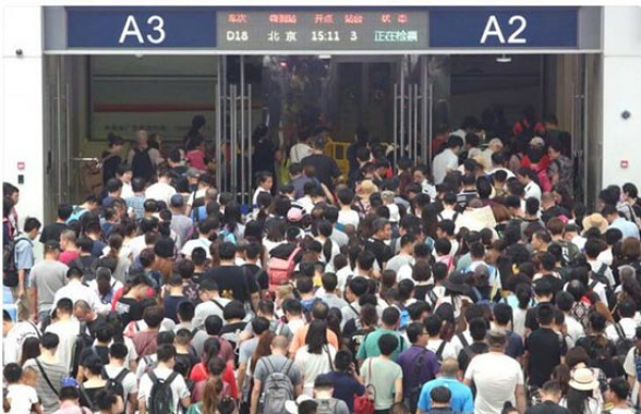 沈鐵本週迎暑運返程小高峰 北站日均發送7.7萬人