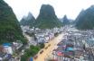 强降雨致广西多地出现洪涝灾害10人死亡