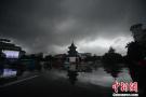 扬州乌云笼罩白昼如夜