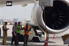 印度飞机地面遇车祸