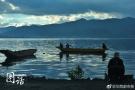 鸟瞰秋天的泸沽湖